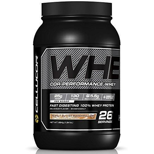 Cellucor Cor-Performance 100% Whey Protein Powder with Whey Isolate Peanut Butter Marshmallow/G4 NET WT.884g(1.94 lb)