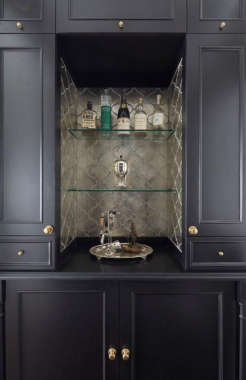 Best 25 Wet Bar Cabinets Ideas On Pinterest Built In