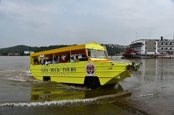 Just when you thought Goa couldn't get any better, it gets Duck Tours – those super cute amphibious bus-turns-boats, perfect to tour the coastal state.