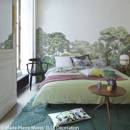 25 best ideas about papier peint panoramique on pinterest - Idee papier peint chambre ...
