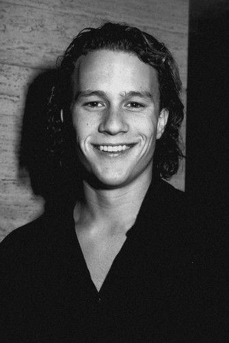 a young Heath Ledger