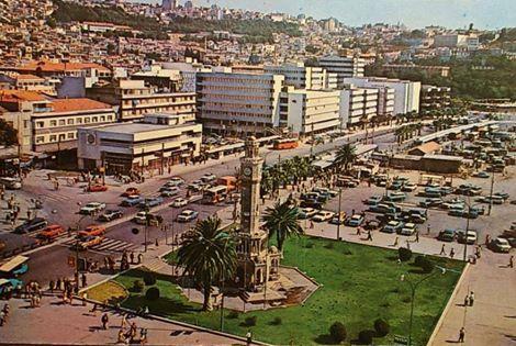 KONAK MEYDANI İZMİR 1970 LER