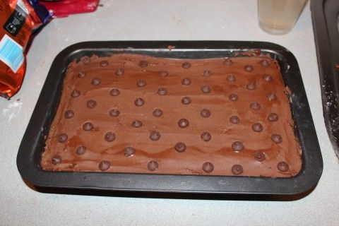 Super easy no bake slice