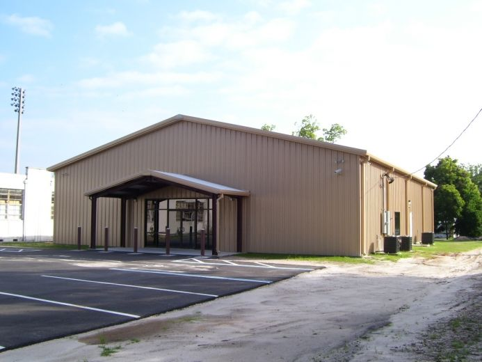 Florida County Judicial Annex Building Fit Well Into The Tight Budget Customer Had It