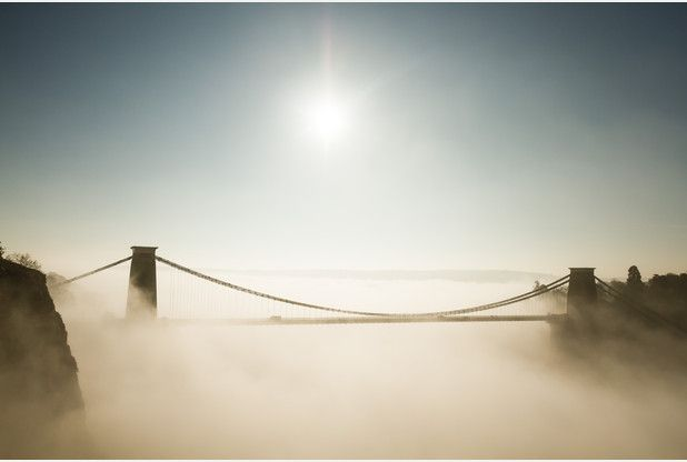 PICTURES: Bristol's Clifton Suspension Bridge in the fog | Bristol Post