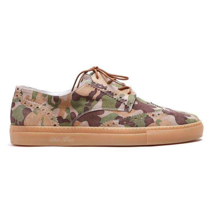 Men's Sahara Desert Basso Chukka Wingtip Sneaker - Sneaker - Men's