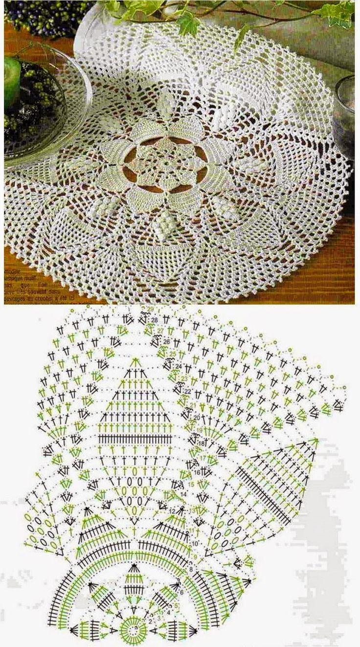 Kira crochet: Scheme no. 60