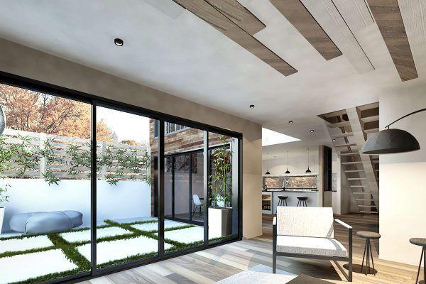 Plan de Maison Moderne Ë_112 Leguë Architecture Design Pinterest