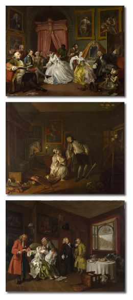 William Hogarth - Marriage A-la-Mode - 2