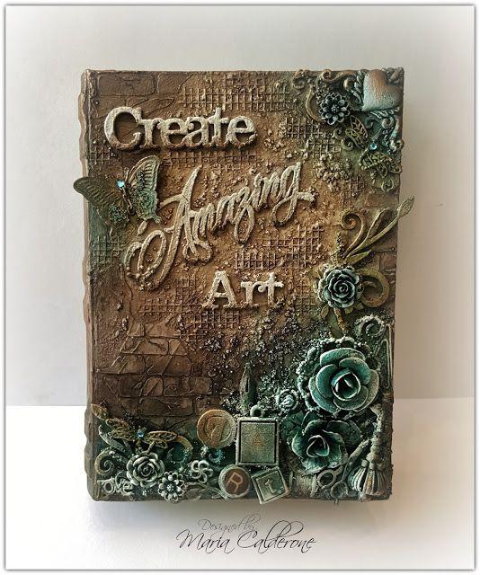 Maria Lina's Creative Designs: Mixed Media Art Prompt Box