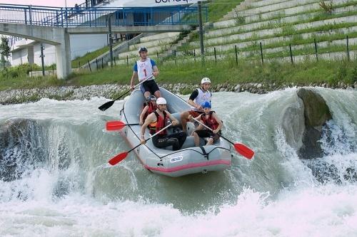 rafting in areal divoka voda