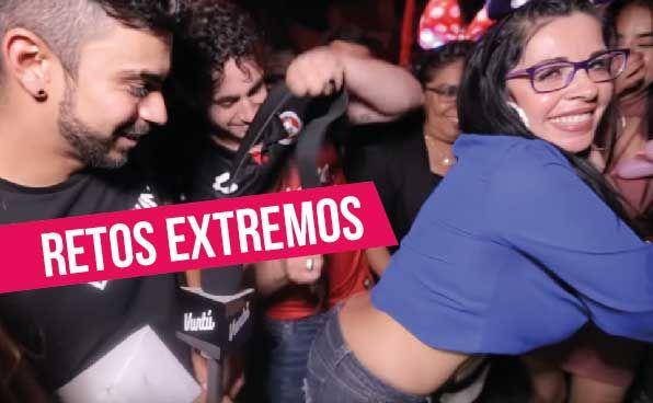 """DebRyanShow junto con la gente de Badabun, Jaime """"el malcriado"""" y la bella Shantal se unieron para hacer de las suyas en un bar de Tijuana, México."""