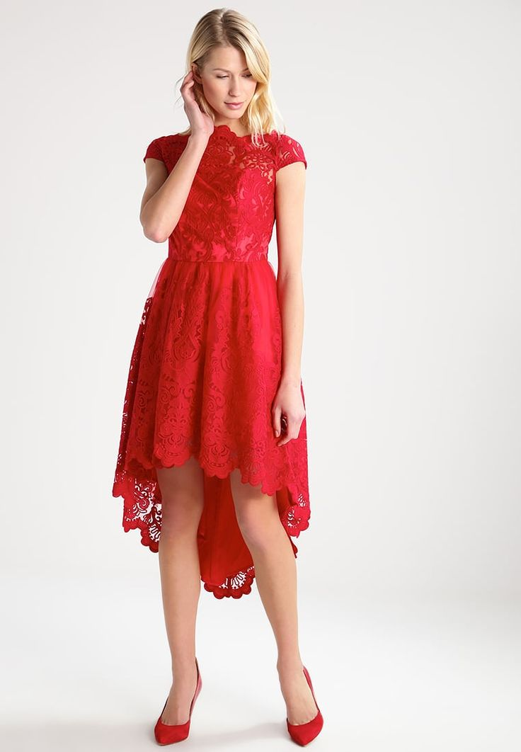 Chi Chi London ASTRID - Suknia balowa - red - Zalando.pl