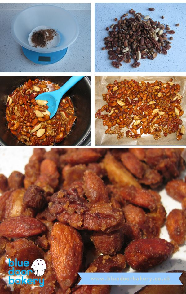 Homemade Christmas Gifts – Candied Christmas Nuts | Blue Door Bakery