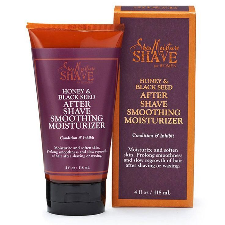 Shea Moisture, Shave for Women, After Shave Smoothing Moisturizer, Honey