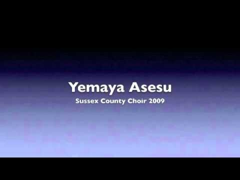 Yemaya Asesu- Sussex County Choir 2009 - YouTube