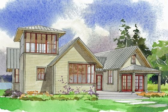 Modern Farmhouse Exterior Small One Story