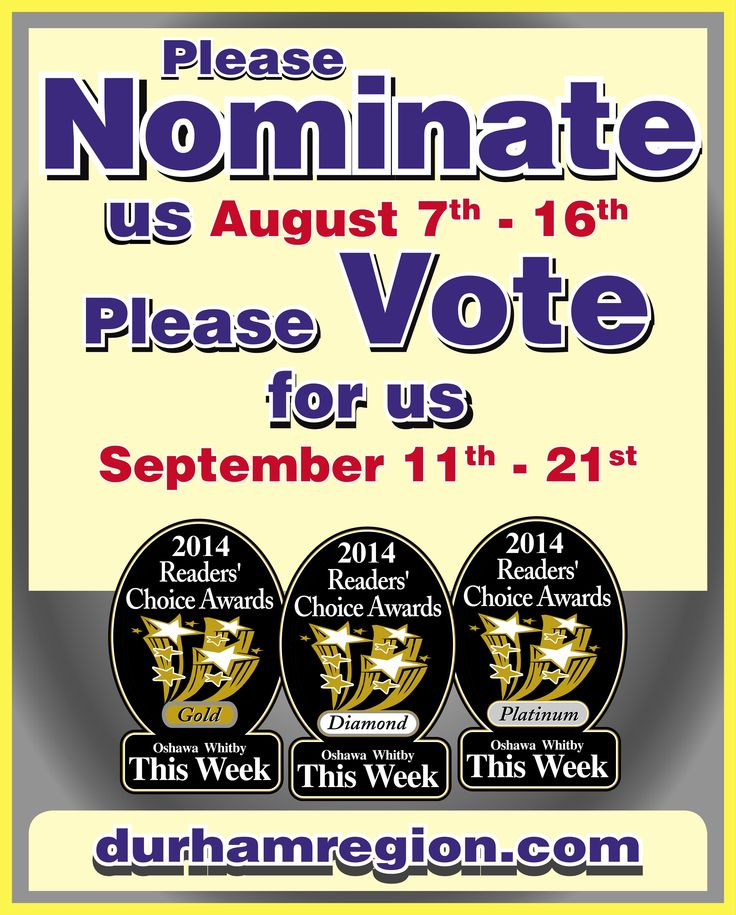 Vote for us!!