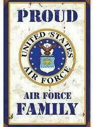 PROUD United States Air Force Family ♥♥♥ Thank you papa, uncle ted, amanda & taylor