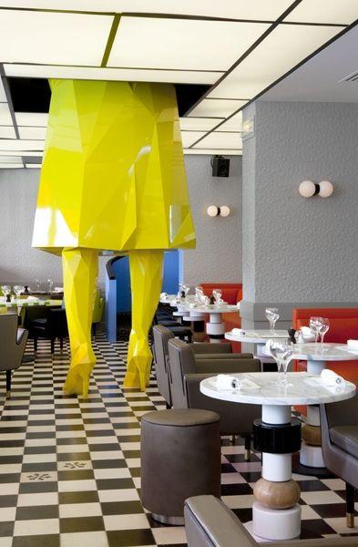 ресторан в париже germain дизайн индиа махда