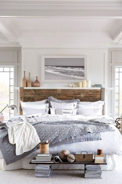 Perfect coastal bedroom | Discover more interior design styles on The LuxPad