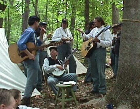 The Irish (69th PVI) Sing for their Supper at 135th Brandy Station, Virginia Reenactment: Brandy Stations, Virginia Reenactment, 135Th Brandy, Irish 69Th, 69Th Pvi