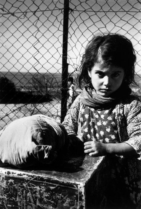 Robert Capa // Haifa. 1949- 1950. Yemeni Jewish girl in a transit camp for new immigrants.