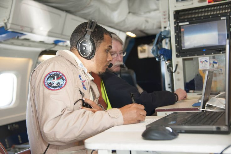 Mission Managers Study Polar Winds Data