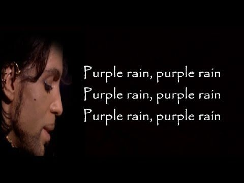 Prince - Purple Rain (Lyrics)
