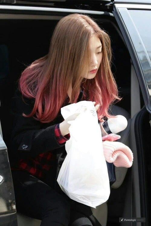 #DIA member and #IOI member Jung Chaeyeon