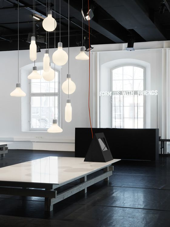 Swedish design studio Form Us With Love: Interior Design, Lamps, Form Pendants, Lights, Design House, Lighting, Light Fixture, Space