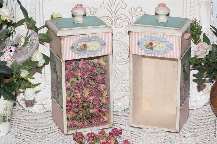 """Купить Баночки """"Воспоминание о весне"""" - бледно-розовый, баночки для специй, баночка стеклянная, баночка для чая"""