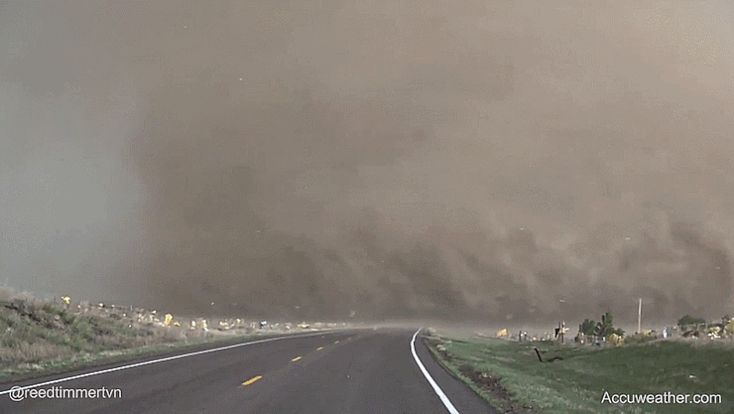 You Have To Be Insane To Drive Your Car This Close To A Tornado