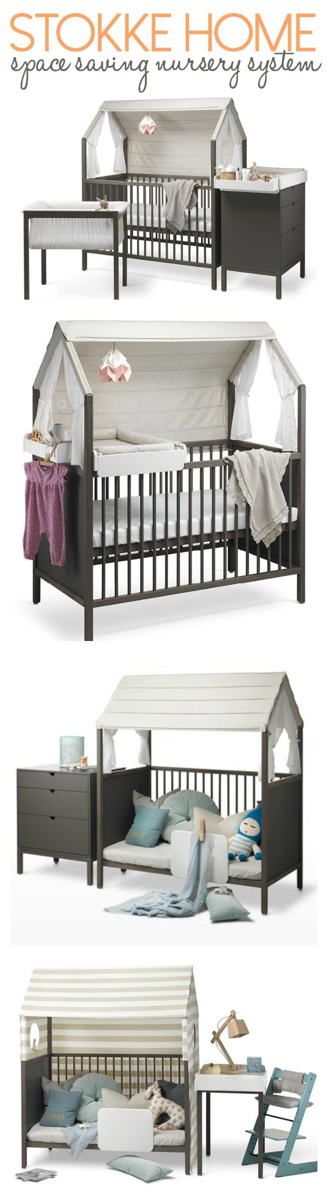 Baby cribs big w - Stokke Home Little Nursery With Big Possibilities Baby Bedsbaby Cribsweb