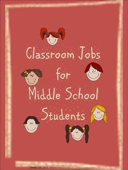 """Simulate a real-world experience by having students apply for and perform jobs in your middle school classroom.  Pay them with """"Class Cash"""" and set up a classroom economy."""