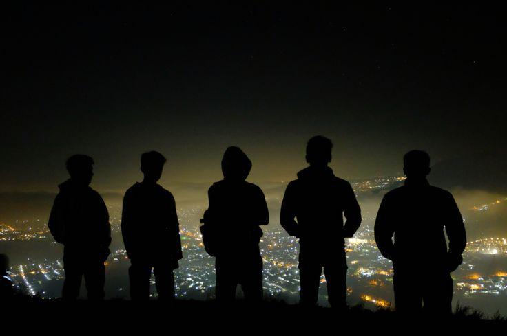 Silhouette in Batu, Malang - Indonesia