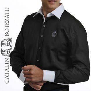 O cămaşă business pentru o ţinută masculină şi elegantă. Este ideală pentru ocazii speciale sau întalniri de afaceri.