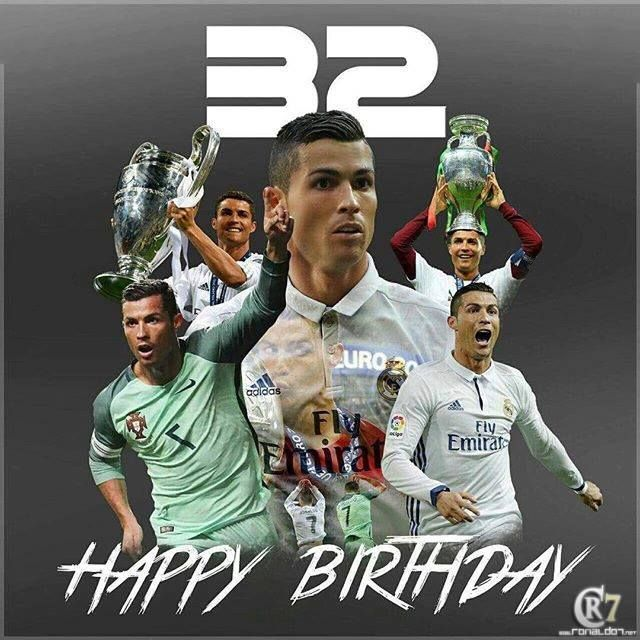 Happy Birthday Cristiano Ronaldo! The Portuguese star turns 32 today. #fashion #style #stylish #love #me #cute #photooftheday #nails #hair #beauty #beautiful #design #model #dress #shoes #heels #styles #outfit #purse #jewelry #shopping #glam #cheerfriends #bestfriends #cheer #friends #indianapolis #cheerleader #allstarcheer #cheercomp  #sale #shop #onlineshopping #dance #cheers #cheerislife #beautyproducts #hairgoals #pink #hotpink #sparkle #heart #hairspray #hairstyles #beautifulpeople…