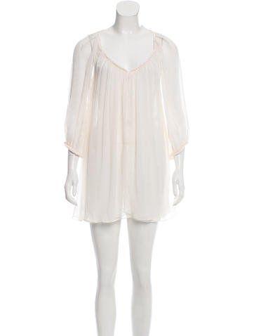 Diane von Furstenberg Soleil Swim Cover-Up Dress