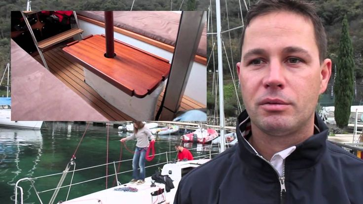 N Fun 30 sailing test, Malcesine, Lake Garda, December 2nd 2014