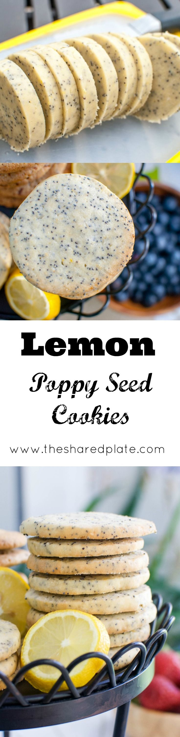 These Lemon Poppy Seed Cookies are addictively crisp, with a tender crumb and are a perfect addition to any cookie assortment.