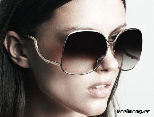 Коллекция солнечных очков от Виктории Бекхэм Осень/Зима 2010 / купить очки виктория бекхем