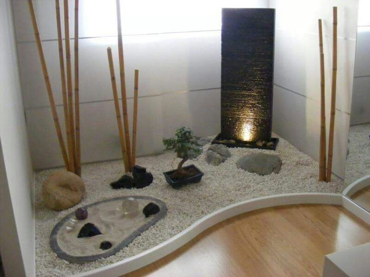 Un rincón zen que invita a la paz
