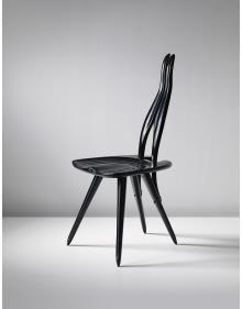 CARLO MOLLINO Important side chair, designed for Carlo Mollino's ... 1959,