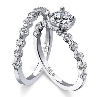 my engagement ring wedding band - Pretty Wedding Rings