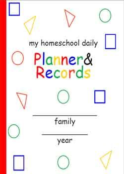 Home school planner... Food for thought