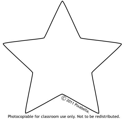 Black And White Star Clip Art Free From Pixabella Crafts