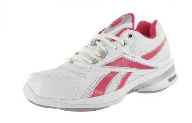 REEBOK Easytone Reeinvigorate Walking Womens Shoes White/Pink/Silver/Carbon Size 8 Reebok. $115.05