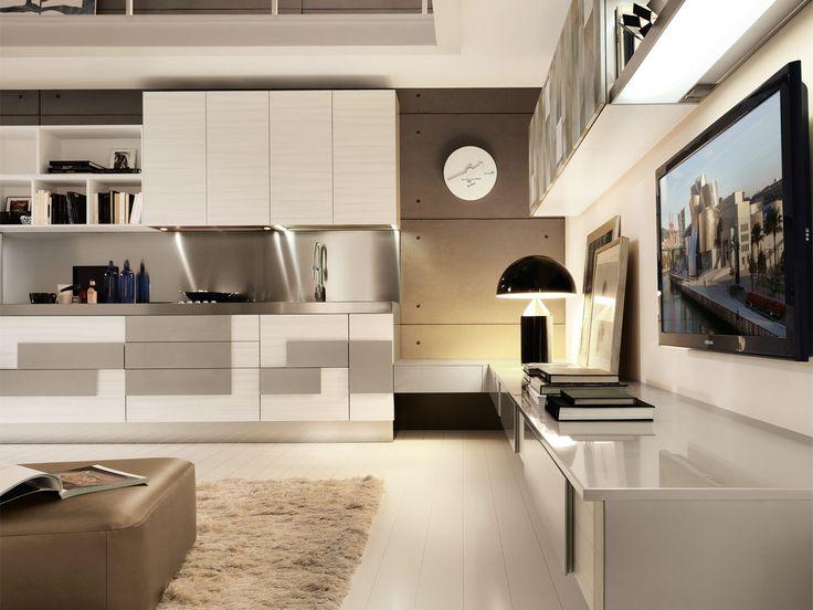 moderno creativa   #kitchen & #homedesign 2   moderno   creativa ... - Soggiorno Lube Creativa 2
