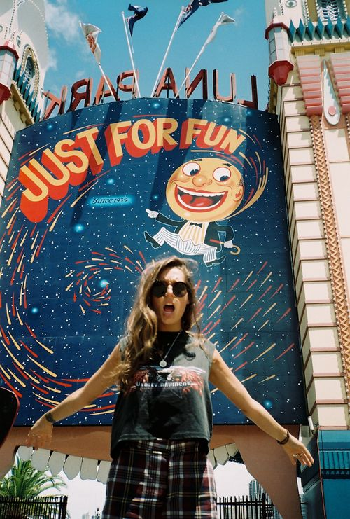 Luna Park I live 30mins away from it am I lucky yessss